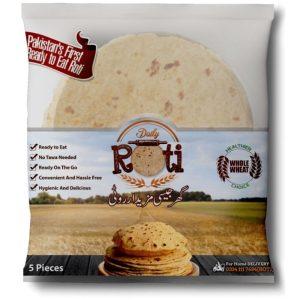 Rotighar Daily Roti 5 Pcs | By Chefiality.pk