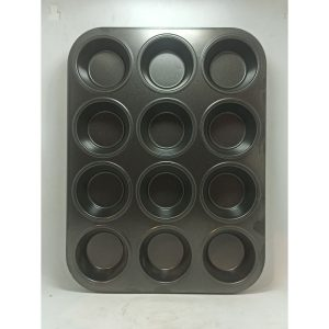 Cup Cake Tray 12 Pcs | By Chefiality.pk