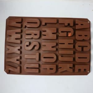ABC Chocolate Mold | By Chefiality.pk