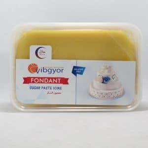Vibgyor Fondant Yellow 1kg   By Chefiality.pk
