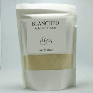 Blanched Almond Flour 500GM   By Chefiality.pk