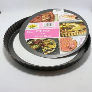 Pie Pan Loose Bottom 24cm | By Chefiality.pk