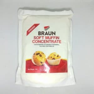 Braun Soft Muffin 1KG | By Chefiality.pk