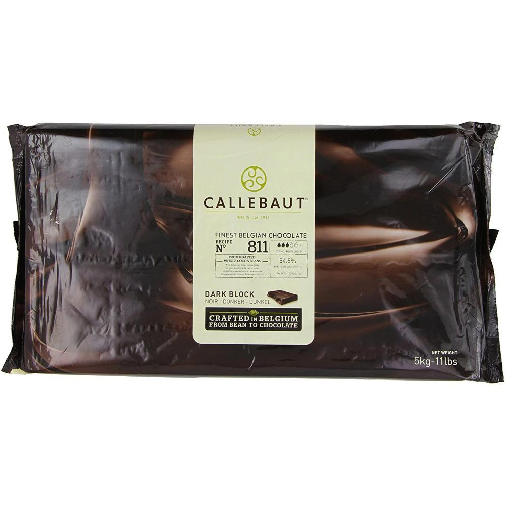 Callebaut Chocolate Block 811 5kg | By Chefiality.pk