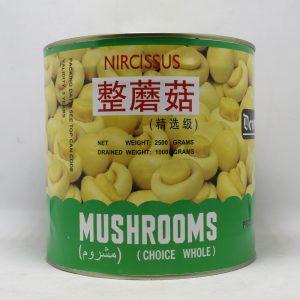Dewdrop Whole Mushroom 2.5 kg | By Chefiality.pk