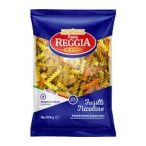 Pasta Reggia  Tusilli Tricolore 500GM   By Chefiality.pk