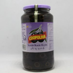 Coopoliva Black Olives 935gm   By Chefiality.pk