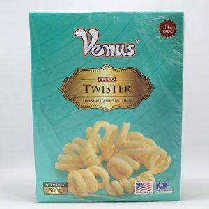 Venus Fries Twister 500gm   By Chefiality.pk