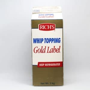 Richs gold  Label whip 2 KG | By Chefiality.pk