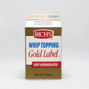 Richs gold  Label  whip 500GM | By Chefiality.pk